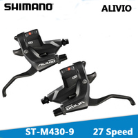 SHIMANO ALIVIO MTB Mountain bike shifter ST M430 Gear shift lever 3 * 9 Control handle Bicycle connection DIP Bicycle derailleur