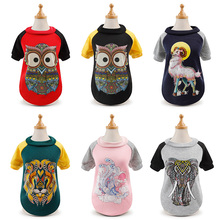 Jacket Sweatshirt Hoodie French Bulldog Pug Winter Coat Small-Dogs Print for Puppy-Clothing