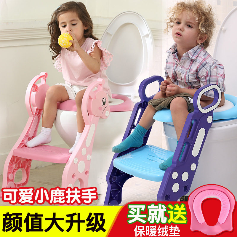 Toilet For Kids Chamber Pot Ti Yi Baby Girls Kids Boy Toilet Chamber Pot Rack Cover Baby Seat Washer Staircase Style