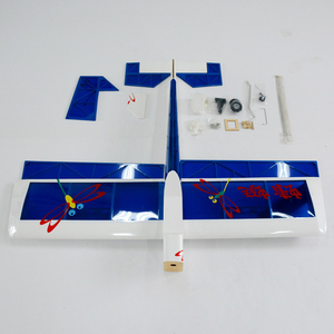 Image 3 - Single wing aircraft model oil model aircraft dragonfly 46   10