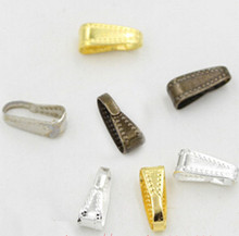 100pcs twisted melon button buckle pendant connecting diy handmade material jewelry accessories