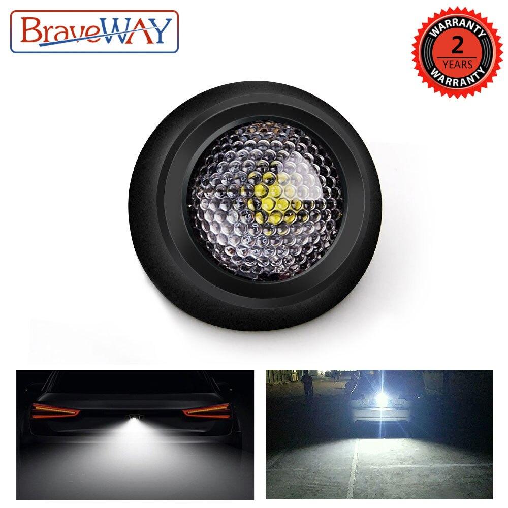 BraveWay LED Reversing Light For Car Led Auto Lamp For Passat For Focus For Golf  For Kuga... P21w W5w C5w W16w T5 T10 LED Bulbs
