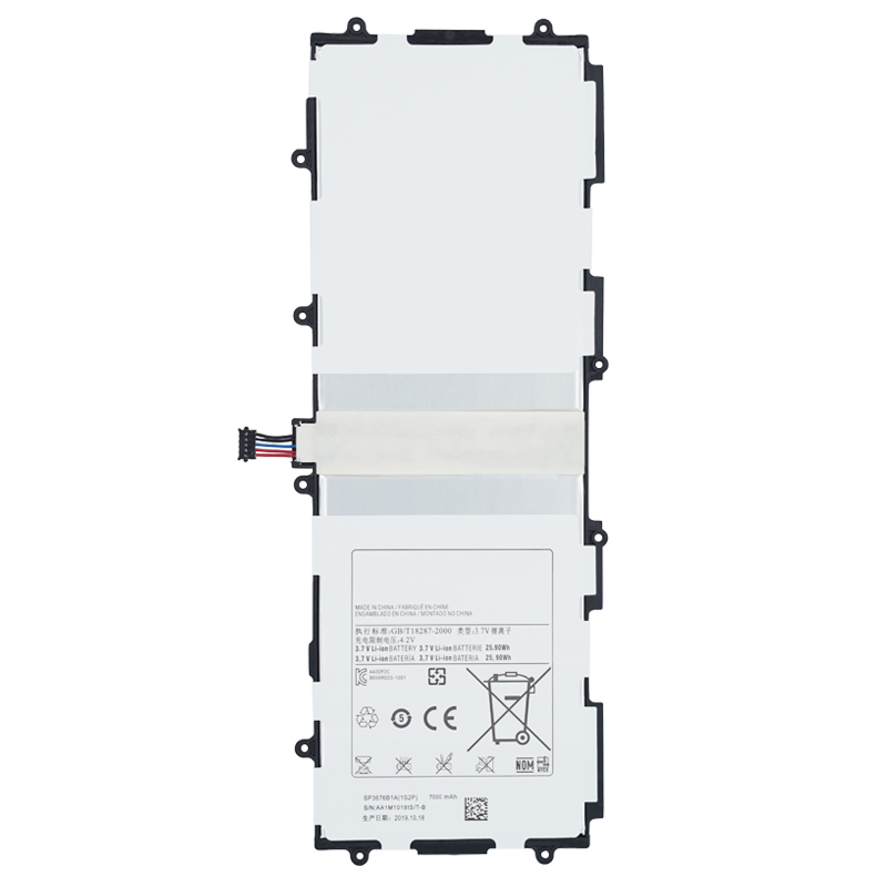 100% Original Tablet Battery SP3676B1A For <font><b>Samsung</b></font> Galaxy Note 10.1 <font><b>GT</b></font>-N8000 N8005 N8010 N8013 N8020 <font><b>GT</b></font>-P7500 <font><b>P7510</b></font> P5100 P5113 image