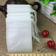 Tea Bags 500Pcs 7 x 9 CM Empty TeaBag With String Heal Seal Filter infuser Strain for Loose Coffee tea Disposable paper bags
