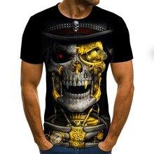 Camiseta con estampado 3D para hombre y mujer, ropa informal de manga corta a la moda, de alta calidad, 2020