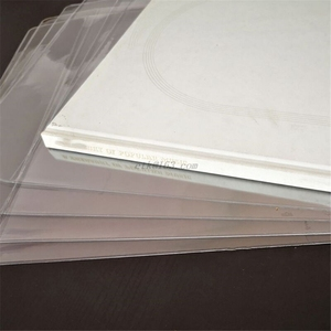 Image 3 - 5 יח\שקית מעובה PVC חומר חיצוני שרוול שיא מגן תיק כיסוי עבור 12 סנטימטרים LP ויניל רשומות אבזרים