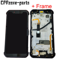 6.21 + Black Frame For Blackview BV9600 Pro / BV9600E LCD Display with Touch Screen Digitizer Sensor Panel Assembly