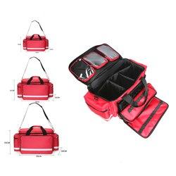 Grote Opslag Ehbo-kit Outdoor Camping Medische Zak Emergency Survival Kit met Schouderband voor Tactische Militaire Familie