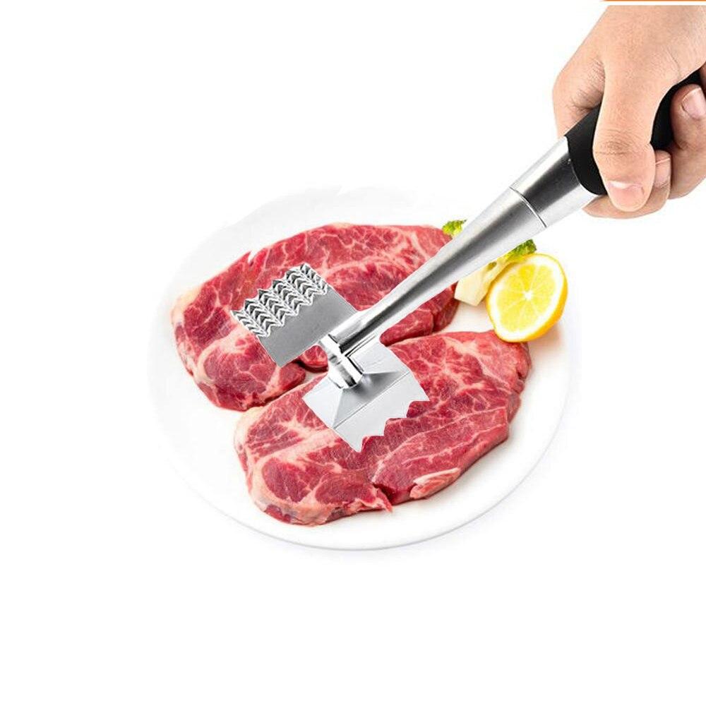 1 шт. кухонные нежные свободные мясные молоточек для мяса из нержавеющей стали профессиональные молоток для отбивания мяса кухонные инструменты