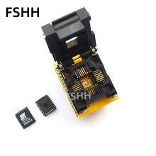100% new high quality CNV-PLCC-EP1M32 (CY) IC Test Socket PLCC32 to DIP28 Programmer adapter