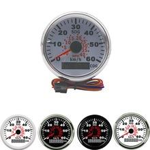 Universal 85mm GPS Speedometer Gauge Odometer For ATV UTV Motorcycle Marine Boat Buggy 0 40MPH 0 60Km/h Speed Gauge Auto Truck