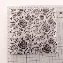 2020 Новое поступление скрапбукинг роза цветок дизайн «сделай