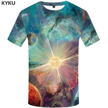 3d Tshirt Galaxy T shirt Men Earth Anime Clothes Nebula Funny shirts Space Shirt Print Graffiti Tshirts Casual Mens Clothing