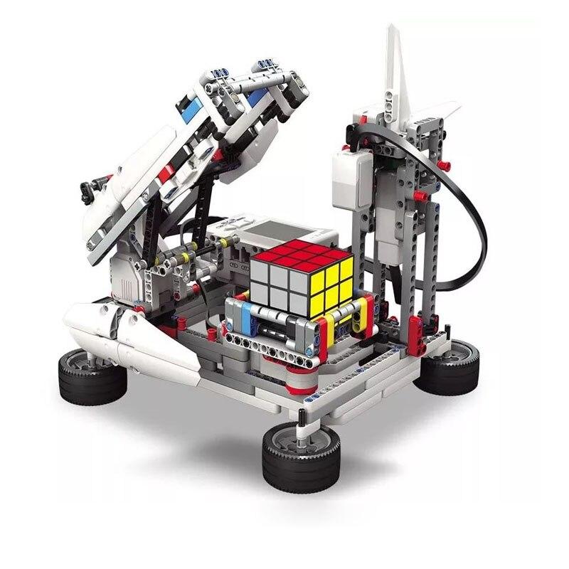 The EV3 Robots Building Blocks Model Education Set STEAM Compatible With Legoes 45544 EV5 EV6 Robotics Programming Series Toys