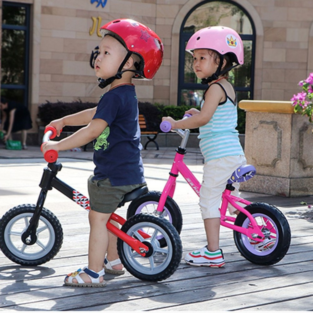 Ha42dcf2fe9264e4fb839b4b315b0c25bq 10 inch Children Balance Bike Kids Riding Bicycle Indoor Outdoor Balance Bicycle No Foot Pedal Baby Walker Riding Toy