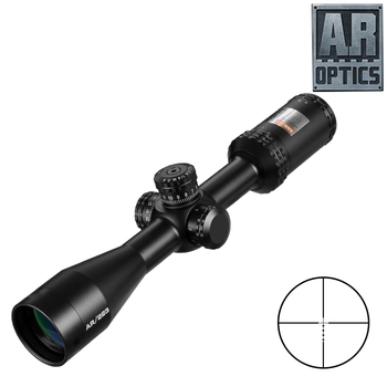 3-9X40 AR Optics Drop Zone-223 Reticle Tactical Riflescope With Target Turrets Hunting Scopes For Sniper Rifle цена 2017