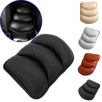 1Pc Soft Car Armrest Mat Pad Central Arm Pads Armrest Covers Arm Rest Storage Box Seat Mats Hand Supports For Car Auto SUV Nice image