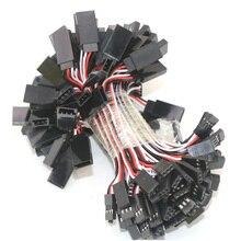 100 шт./лот провод кабель 100 мм 150 мм 300 мм 500 мм сервоудлинитель для штекер Futaba futabLead провод кабель для RC игрушки