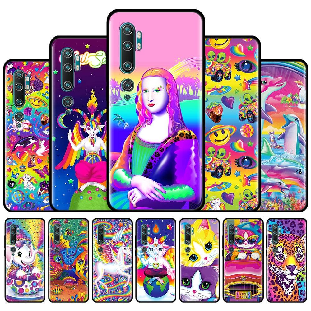 Lisa Frank Art Phone Case For Ximaomi Mi 10 Youth 5G 9 SE 9T CC9 CC9E A3 A2 8 Lite Note 10 Pro Poco X2 Silicone Back Cover Couqe