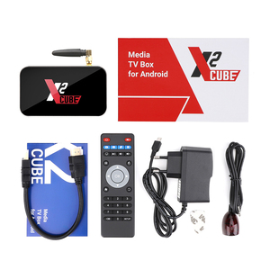 Image 5 - X2 CUBE 2GB DDR4 16GB inteligentny Android 9.0 TV, pudełko Amlogic S905X2 2.4G/5GHz WiFi 1000M Bluetooth 4K HD X2 Pro 4GB 32GB dekoder