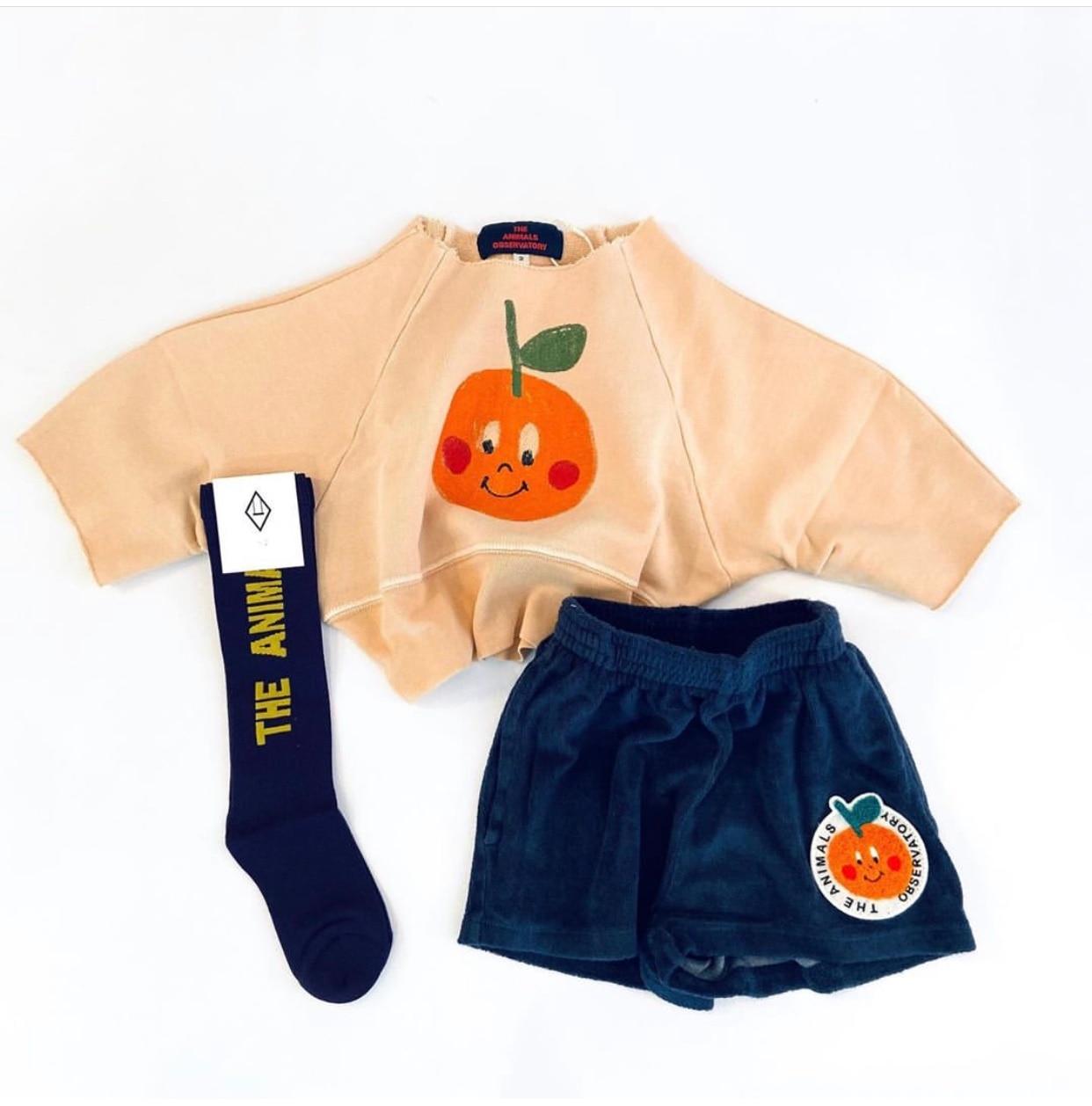 Kids Tube Socks Spring Autumn 2021 New TAO Brand Toddler Girls Fashion Spain Design Infant Baby Knee High Socks Girls Boy Socks 5
