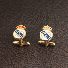 Creative team logo cufflinks England Manchester United football French mens accessories selling