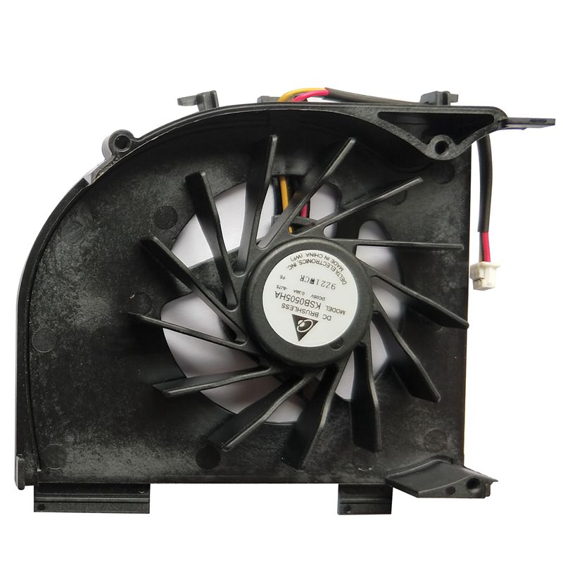 Laptop CPU Fan For Hp Pavilion DV5 DV5T DV5-1000 DV6 DV6-1100 P/N:KSB0505HA 8J75 DC5V 0.38A 3 PINS Cooler Fan
