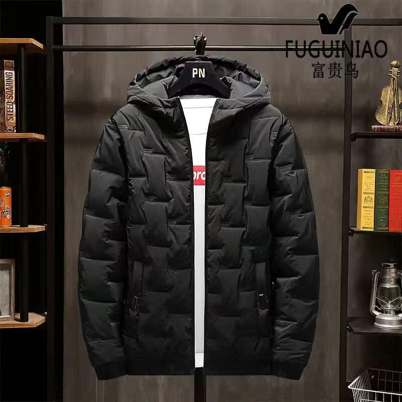 2020 New Winter Men'S Jacket Men'S Cotton Jacket Jacket Handsome Trend Cotton Jacket Hooded Jacket Jacket