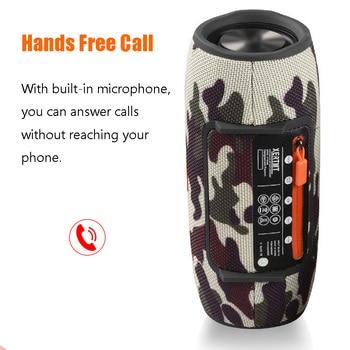 Wireless Bluetooth Super bass Speaker Waterproof Portable Outdoor Mini Column Loudspeaker sport hifi boombox stereo fm subwoofer 4