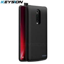 KEYSION 6500mAh Portable Battery Case for Xiaomi Mi 9T Pro 9 SE A3 CC9e Power Bank Charging Redmi K20 Note 7