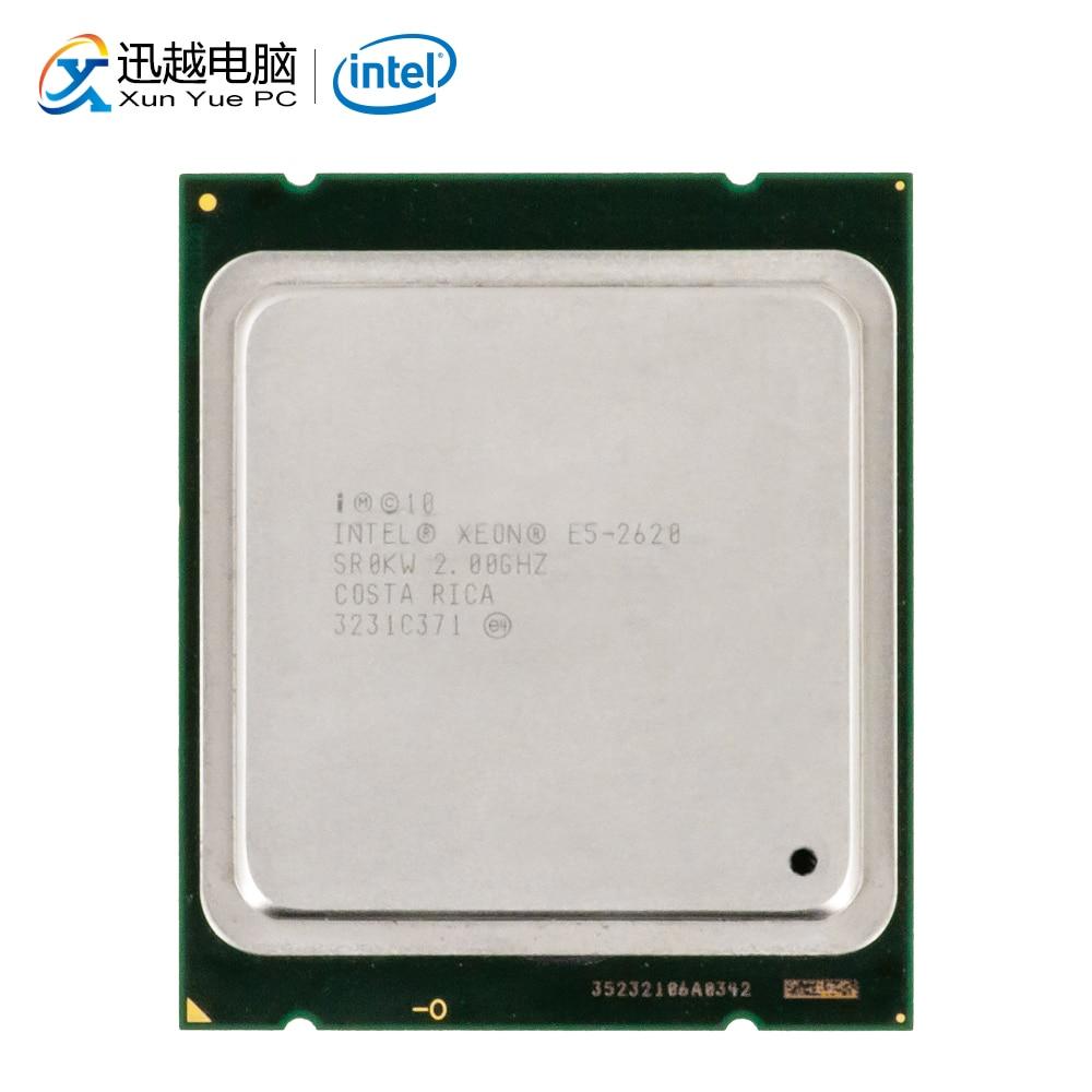 Intel Xeon E5-2620 Desktop Processor 2620 Six Core 2GHz 15MB L3 Cache LGA 2011 Server Used CPU