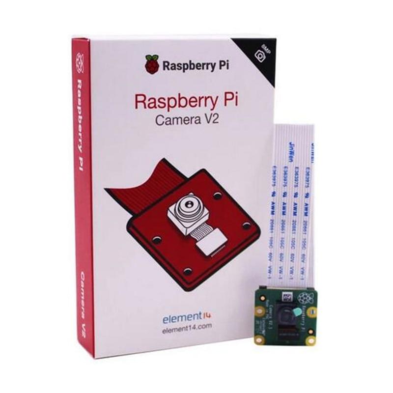 Original raspberry pi câmera v2 módulo luz-sensível chips 8mp pixel com sony imx219 1080p suporte de vídeo raspberry pi 3b +/pi4