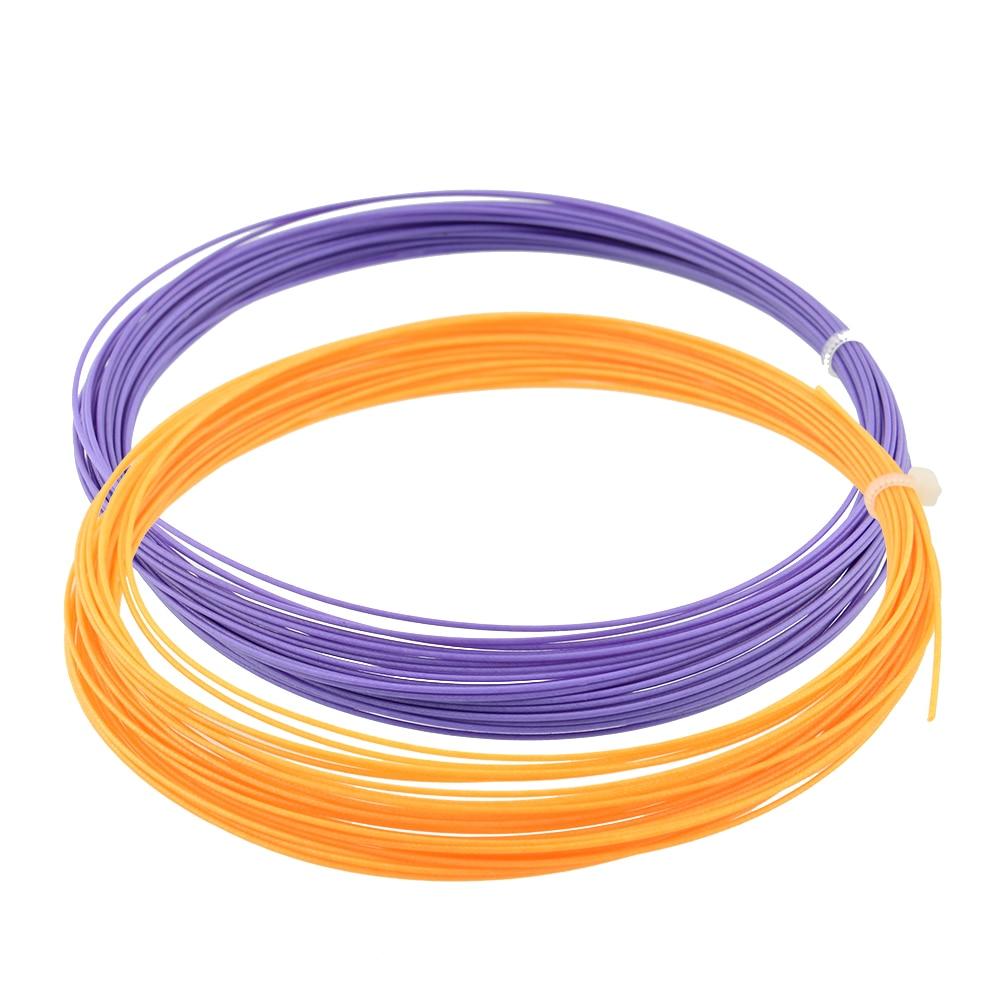 10M 0.75mm Sports Badminton Racket String Replacement Gauge Fibre Nylon Badminton Training Racket Racquet Line