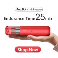 AutoBot Vmini Handheld Vacuum Cleaner Cordless & Portable Auto Cleaner Mini Car Autos Home Cordless Carpet Sofa Dust Cleaner