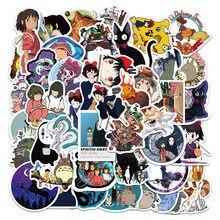 Стикеры с героями мультфильмов «Тоторо», «спирированная девушка», стикеры s, Миядзаки, Хаяо, аниме стикер «сделай сам», чемодан для скейтбор...