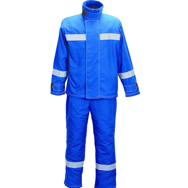 35cal44cal Flame Retardant Reflective Safety Coverall Flame Retardant Anti-Arc Anti-static Insulation Protection Suit Wholesale