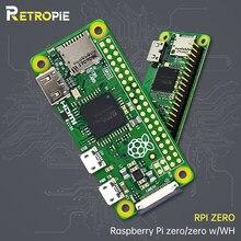 Retropie Raspberry Pi ZERO/ ZERO W/ZERO WH bezprzewodowa żona płyta bluetooth z procesorem 1GHz 512MB RAM Raspberry Pi ZERO wersja 1.3