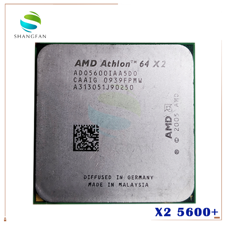 Amd Athlon 64 X2 5600 65W AM2  1MB  2900MHZ