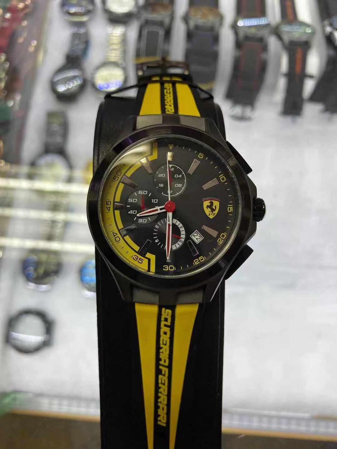 2020 New Arrival FERRARI WORLD Men's Watches Classic Fashion Brand Watches Luxury Sports Men And Women Couple Watches