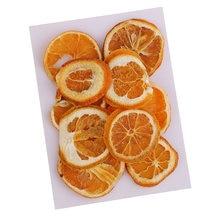 10 шт сухопрессованные фрукты апельсиновые кусочки для литья