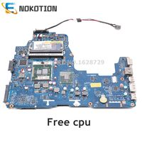 NOKOTION LA-6061P NWQAA laptop motherboard Principal Board para toshiba Satellite A660 K000104250 K000104270 HM55 DDR3 cpu Livre