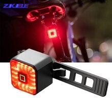 Brake-Lamp Bicycle-Light USB Smart Bike-Accessories Stop-Signal Safety-Lantern Sense
