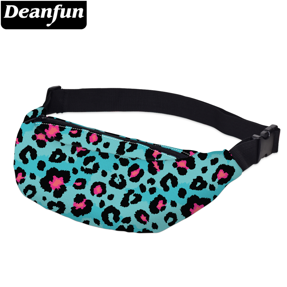 Deanfun Printing Constellation Fanny Packs Men Waterproof Wing Unicorn Waist Pack Man Shoulder Bag For Travel  YB-57