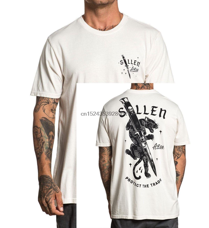SULLEN giyim kesim T-Shirt gri M-3XL yeni Unisex moda T shirt üst tee