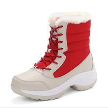 CS697 Women Boots Winter Shoes Women Sno