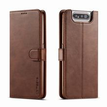 Luxury Case For Samsung Galaxy A90 Case Flip Book Wallet Magnetic Cove