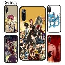 Kraebrei Anime Fairy Tail tutta la bellezza custodia per telefono Nero per Huawei P10 P20 P30 P40 Mate 20 30 40 Pro Lite P Smart 2019 2020 Z Shell