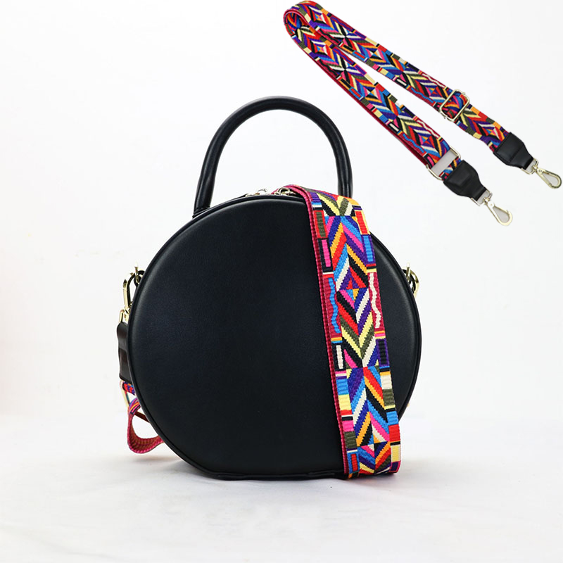 Fashion Colorful Shoulder Bag Strap Handbag Cute Ribbon Replacement Adjustable Belt