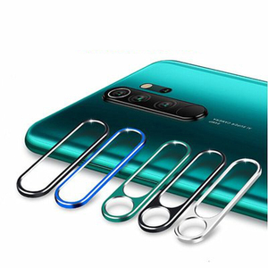 Image 5 - Dla Xiaomi Redmi Note 7 osłona obiektywu aparatu szkło hartowane aparat fotograficzny metalowy pierścień skrzynki pokrywa zderzak Redmi uwaga 7 8 Pro