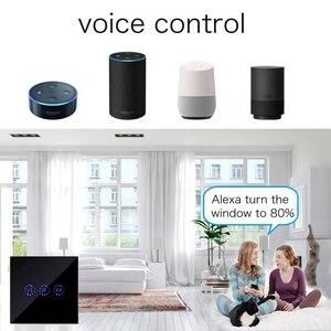 Image 2 - eWeLink EU US WiFi Curtain Blind Switch for Roller Shutter Electric motor Google Home Alexa Echo Voice Control DIY Smart Home